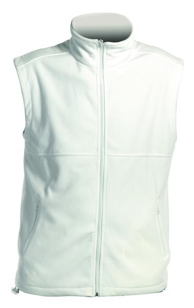01451449dfa Fleecová dámská vesta VORMA bílá