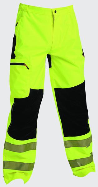 d31b048ce3f Nepromokavé kalhoty TICINO žluté reflexní