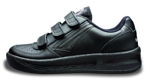 Klasická sportovní obuv PRESTIGE na suchý zip černá  17a6cd5f8f8