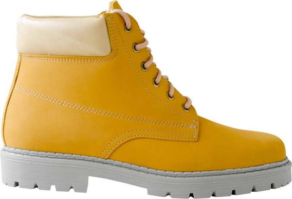 Kožená zimní obuv Farmářka písková 774dce288d