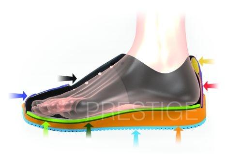 Klasická sportovní obuv PRESTIGE na suchý zip bílá · Fotka 1 · Fotka 2 1245566e13